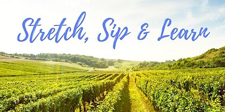 Stretch, Sip & Learn tickets