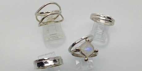 Sterling Silver Stacking Rings - Intermediate Metalsmithing Workshop tickets