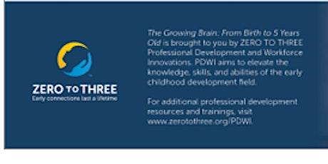 CANCELLED- The Growing Brain: Communication & Language Development: Part 1 tickets