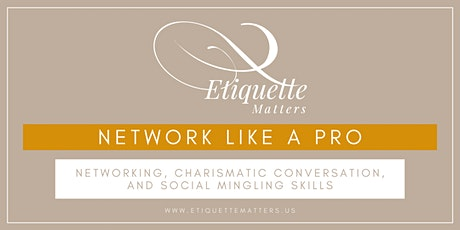 Networking Like a Pro tickets