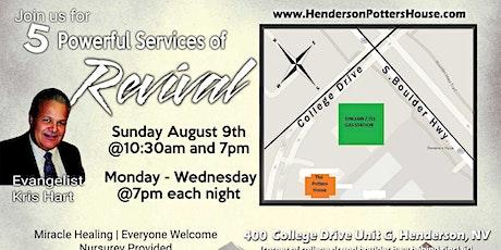 Evangelist Kris Hart Revival Services tickets