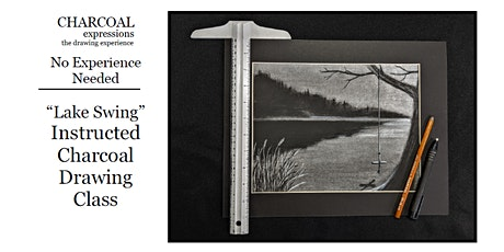 """Charcoal Drawing Event """"Lake Swing"""" in Stevens Point tickets"""