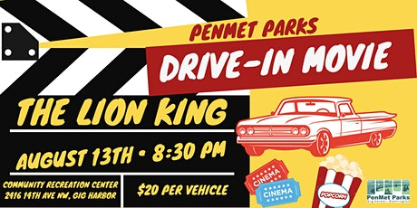 Drive-In Movie: The Lion King tickets