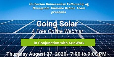 Going Solar Webinar! tickets