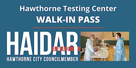 Hawthorne Testing Center Walk-in Pass tickets