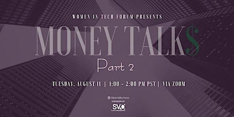 Money Talks 2: Investing Your Money During & Post COVID-19 Era tickets