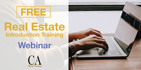 Free Real Estate Intro Session - Mission Viejo tickets