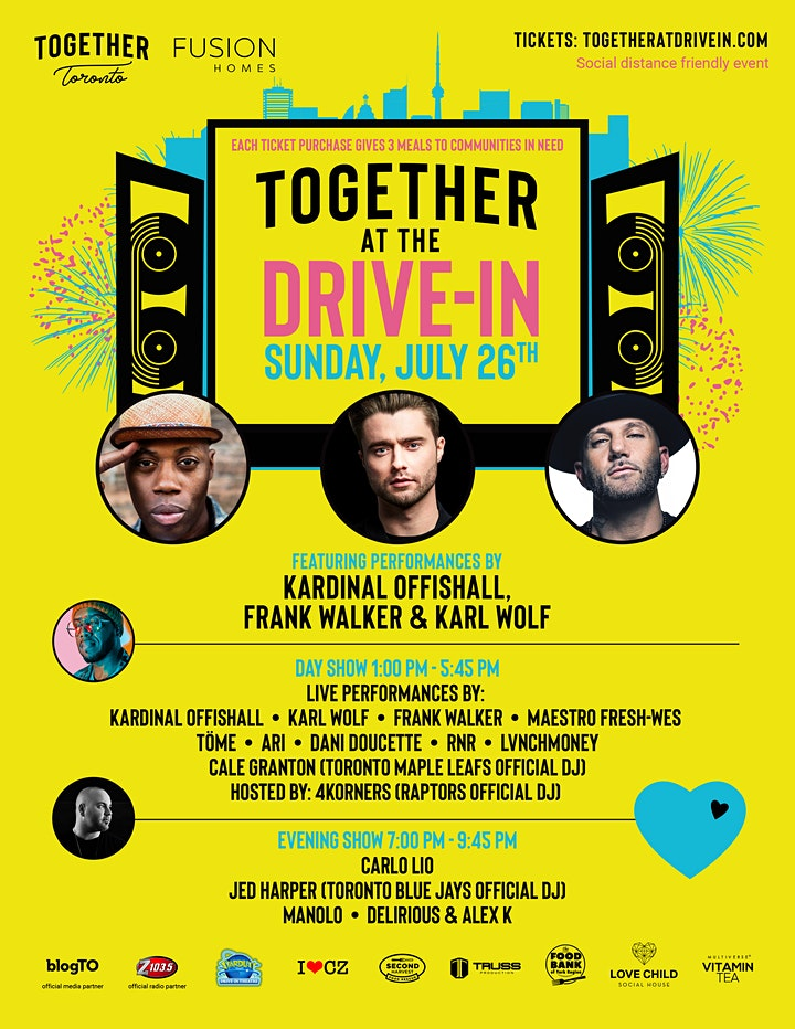 Together at the Drive-In Concert for a Cause. image