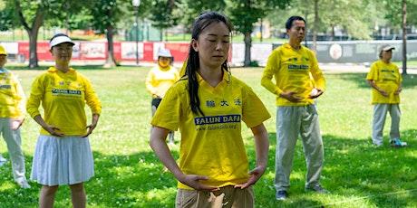 Free Falun Dafa meditation online teaching tickets