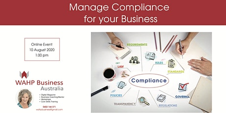 Manage Compliance for your Business tickets
