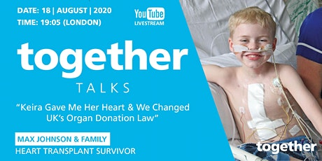 Keira Gave Me Her Heart & We Changed UK's Organ Donation Law tickets