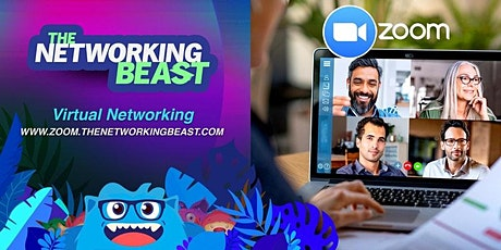 Friday Morning Virtual Networking with the Networking Beast ingressos