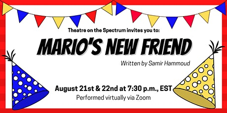 Mario's New Friend tickets