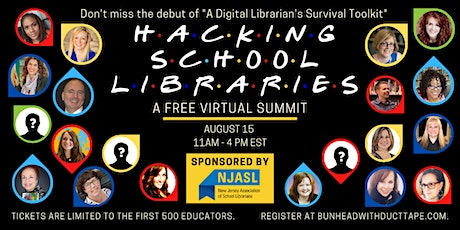 Hacking School Libraries - A Free Virtual Summit tickets
