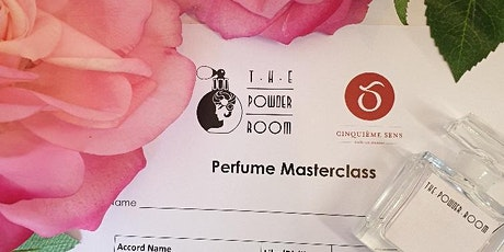 Virtual Rose Perfume Masterclass. Australia Wide tickets