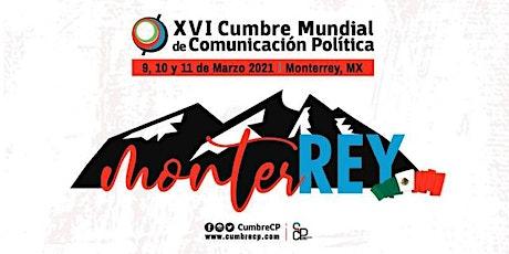 XVI Cumbre Mundial de Comunicación Política boletos