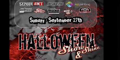 Halloween show & shine tickets