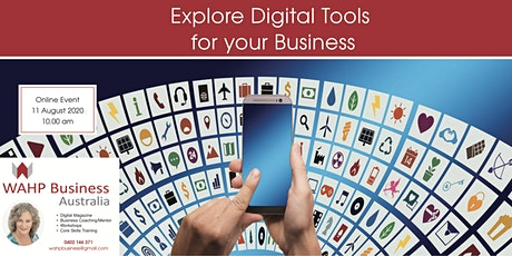 Explore Digital Tools for your Business tickets