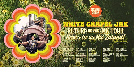 RESCHEDULED White Chapel Jak @ Napier - The Cabana tickets