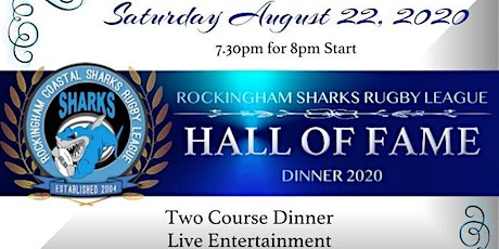 Rockingham Coastal Sharks RLC - Hall of Fame 2020 tickets