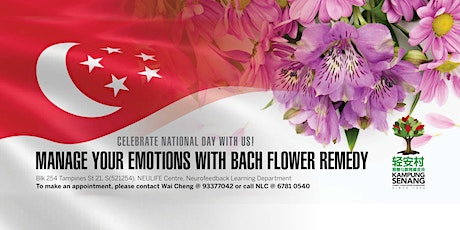 National Day Celebration | Manage Emotion with Flower Remedies tickets