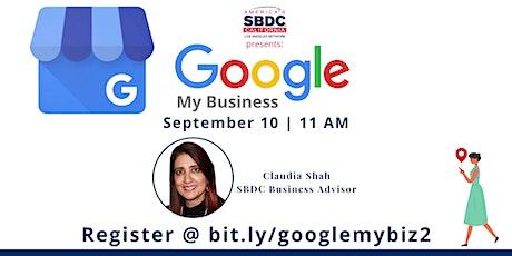 Google my Business tickets