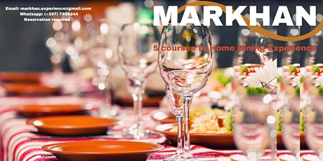 IN HOME DINING at Markhan Experience Aruba tickets