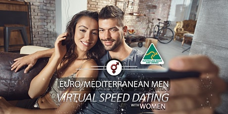 Euro/Mediterranean Men Speed Dating | F 24-39, M 26-39 tickets