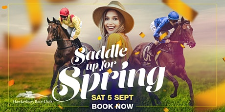Saddle Up For Spring Raceday tickets