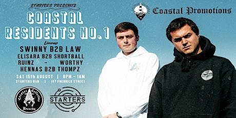 Starters Presents: Coastal Residents #1  - Dunedin tickets