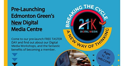 Pre-Launch of Edmonton Green's Digital Media & Technology Centre tickets