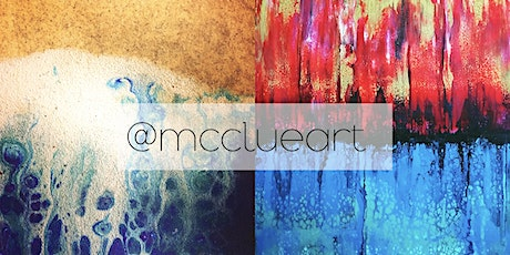 Advanced Acrylic Pouring Workshop with Nicola McClue: Creative Hearts Art tickets