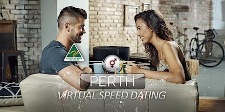 Perth Virtual Speed Dating | 34-46 | October tickets