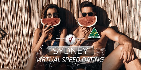 Sydney Virtual Speed Dating | 34-46 | October tickets