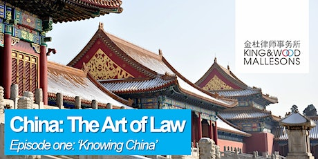 China: The Art of Law  - Knowing China tickets
