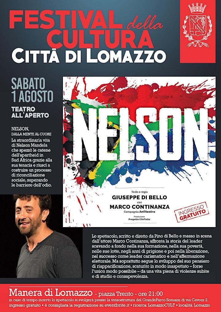 Immagine Teatro all'Aperto - Nelson - La storia di Nelson Mandela - LomazzoCULT