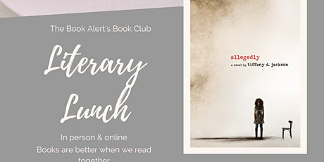 The Book Alert's Literary Lunch tickets