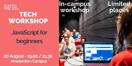 Tech Workshop - JavaScript for beginners tickets