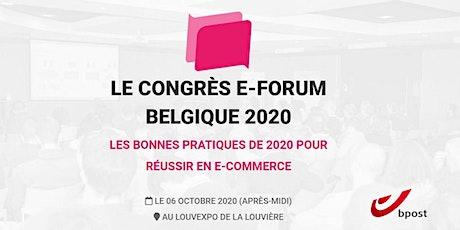 e-forum La Louvière 2020 tickets