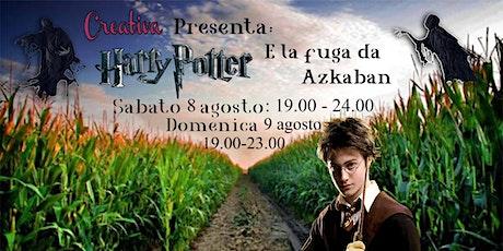 Labirinto Harry Potter - La Fuga da Azkaban - Sabato 08  Domenica 9 Agosto biglietti