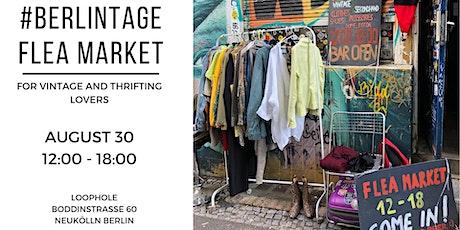 BERLINTAGE flea market / for vintage & thrifting lovers tickets