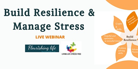 Build Resilience and manage stress  course Virtual tickets