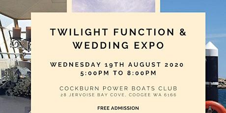 Cockburn Power Boats Twilight Function & Wedding Expo  |  2020 tickets