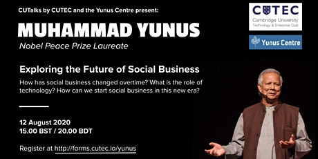 Muhammad Yunus: Exploring the Future of Social Business tickets
