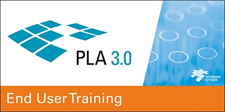PLA 3.0 End User Training, virtual (Sep 03, Europe - Middle East - Africa) tickets
