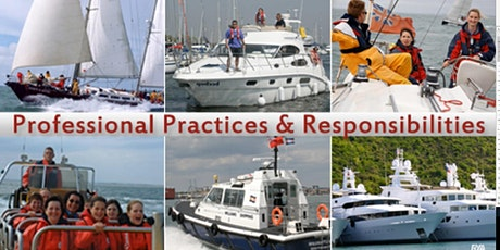 RYA Professional Practises and Responsibilities- E LEARNING  COURSE