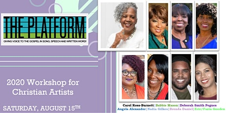 The 2020 Platform Workshop for Christian Artists tickets
