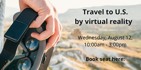 Travel to the U.S. by virtual reality tickets