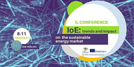 "E-conference ""IoE: trends and impact on the sustainable energy market"" tickets"