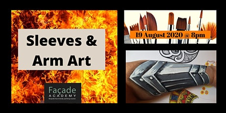 Facade Academy Online - Sleeves and Arm Art tickets